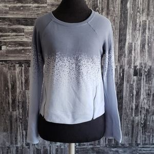 Calia by carrie Underwood zipper belle sleeve top